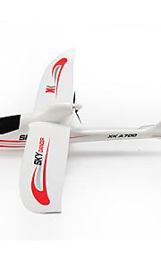 wltoys xk A700-b 2.4g taivas kuningas 3ch 750mm kamera rc lentokone yhteensopiva Futaba rtf