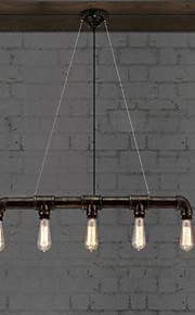 MAX 40W Retro Mini Estilo Pintura Metal Lámparas ColgantesSala de estar / Dormitorio / Comedor / Cocina / Habitación de estudio/Oficina /