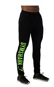 Hombres Carrera Prendas de abajo / Pantalones Yoga / Fitness / Deportes recreativos / Running Transpirable / Secado rápido / Compresión