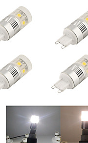 LED à Double Broches Décorative Blanc Froid YouOKlight 4 pièces T G9 3W 11 SMD 5050 220 lm AC 100-240 V