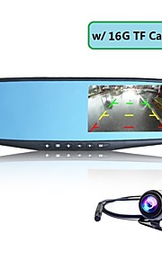 CAR DVD-Sensore G / Grandangolo / Antiurto / Full HD / Uscita video-CMOS da 5.0 MP,2048 x 1536