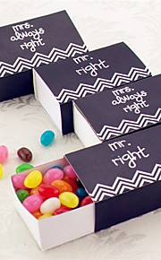 Mr. Right & Mrs Always Right Party Favor Box