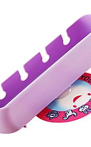 animal de la historieta baño estante para aparatos estéreo lindo cepillo de dientes titular