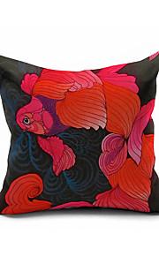 2016 New Arrival  Cotton/Linen Pillow Cover , Nature Modern/Contemporary  Pillow Linen Cushion974