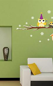 Animais / Botânico / Formas Wall Stickers Autocolantes de Aviões para Parede,pvc 20*60cm