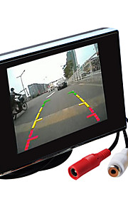 3,5 inch TFT-LCD auto achteruitkijkspiegel-monitor hd met standaard omgekeerde back-up camera van hoge kwaliteit