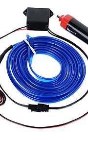 exled 12v 5w ledet atmosfære lys / bil dekorativ lampe med blåt lys