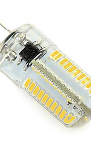 Ampoules Maïs LED Blanc Chaud / Blanc Froid 1 pièce T G4 4W 80 SMD 3014 320-360 lm AC 100-240 V