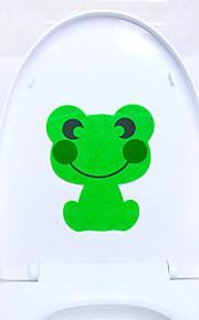 귀여운 동물 화장실 스티커 스티커