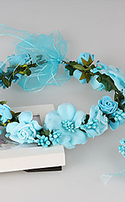 Women's Fabric Headpiece-Wedding / Special Occasion / Casual / Outdoor Wreaths 1 Piece