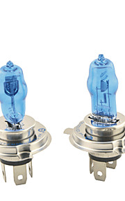 Carking ™ HOD H4 100W 6000K Ultra Bright Bil Warm White Light Pærer (DC 12V/Pair)