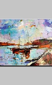 Hånd-malede Abstrakt Landskab Moderne,Et Panel Hang-Painted Oliemaleri
