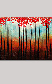 Hand Painted Oil Painting Impression Landscape Wall Art with Stretched Framed Ready to Hang
