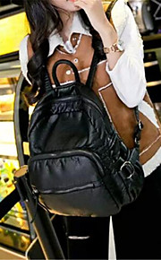Women Casual PU Drawstring Backpack