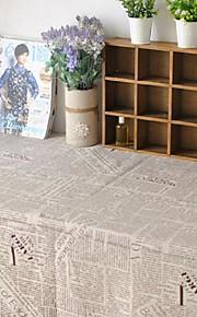 krant tafelkleed mode hotsale hoogwaardige katoen vierkante salontafel hoes van textiel handdoek