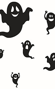 Wall Stickers Wall Decals Style Happy Halloween PVC Wall Stickers