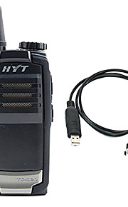 Hytera TC-320-U450-470 Walkie-talkie 1W/5W 1700mAh 400-470 mHz 3-5 kmNødalarm / Programmerbar med PC software / Strømsparefunktion /