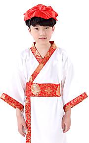 Performance Dresses Children's Performance Cotton Pattern/Print 1 Piece White