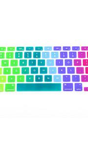 """coosbo® bunten Silikon-Tastatur Schutzabdeckungshaut für 11 """", 13"""", 15 """", 17"""" mac macbook air Pro Retina"""