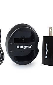 Kingma dual usb laturi Canon LP-E6 akku ja Canon EOS 5D2 5d3 70d 6d 7d 7D2 60d kanssa usb adapterin voima