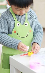 100% katoen chiildren schorten voor de keuken om te studeren met kikker stijl