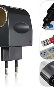 european nye stilfulde bedste pris 220v ac til 12V DC bilens cigarettænder stikkontakten plug adapter konverter