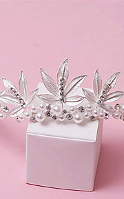 Women's Pearl / Rhinestone / Alloy Headpiece-Wedding / Special Occasion / Outdoor Tiaras 1 Piece