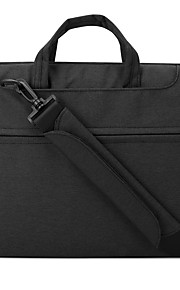 pofoko® 13.3 inch waterdichte Oxford stof laptophoes groen / zwart / grijs / roze