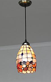 Max 60W מנורות תלויות ,  Tiffany אחרים מאפיין for סגנון קטן מתכתחדר שינה / חדר אוכל / מטבח / חדר עבודה / משרד / חדר ילדים / כניסה / חדר