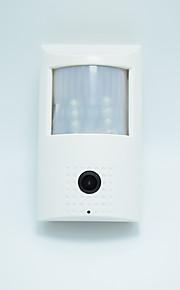 960p ir cut nattesyn mini ip kamera 48pcs 940nm førte PIR-netværkskamera bevægelsessensor skjult indbygget mikrofon