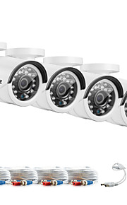 sannce® 1080 * 720 AHD ir cctv taglio kit per macchine fotografiche interne ed esterne kit del sistema resistente alle intemperie di