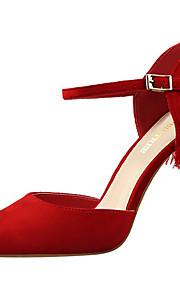 Homme-Habillé / Soirée & Evénement-Noir / Rose / Rouge / Gris / Orange / Kaki-Talon Aiguille-Talons / Bout Pointu / Confort-Chaussures à
