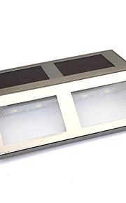 태양 광 발전 4 SMD는 독 경로 경로 단계 교통 안전 표지 신호 조명을 주도