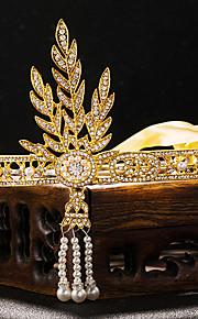 Women's Rhinestone / Alloy / Imitation Pearl Headpiece-Wedding / Special Occasion Tiaras 1 Piece