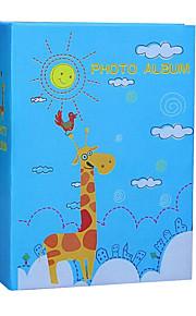 6 tommer 100 stk fawn mønster fotoalbum