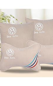 Car Pillow Headrest Car Waist Pillow Cushion Backrest Pillow Car Accessories Home Office A Family Of Four