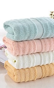 """1 Piece Bamboo Fabric Thickening Bath Towel  55"""" by 27"""" Solid Multicolor Super Soft"""