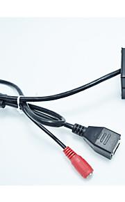32g tf card + 960p mini ip kamera sikkerhed kamera 1,3 megapixel h.264 p2p support ip / netværk ip cam til 3,7 mm linse