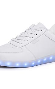 Men's Comfort / LED Light Luminous /Round Toe Flats Outdoor / Casual Flat Heel Shoes