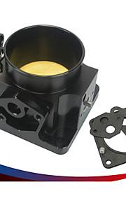 bil modifikation stigning indsugningsluft drosselventil cnc legering 75 mm gasspjæld diameter ventil egnet til ford