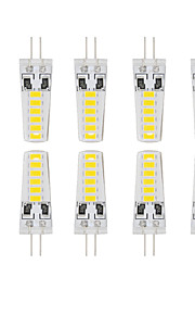 4W G4 LED à Double Broches T 12 SMD 5730 280 lm Blanc Chaud / Blanc Froid Etanches DC 12 V 10 pièces
