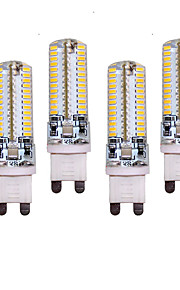 10W G9 LED à Double Broches T 96 SMD 3014 700 lm Blanc Chaud / Blanc Froid Décorative AC 100-240 V 4 pièces