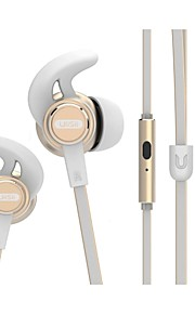 UiiSii UiiSii GT800 I Øret-Hovedtelefoner (I Ørekanalen)ForMedie Player/Tablet / Mobiltelefon / ComputerWithMed Mikrofon / DJ / Lydstyrke