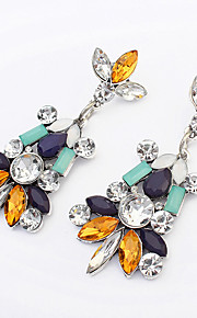Pendiente Pendientes Gota Resina Diamantes Sintéticos De mujeres
