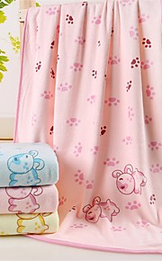 "1 Piece Microfiber Bath Towel 55"" by 27"" Cartoon Pattern Super Soft"