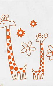 애니멀 벽 스티커 플레인 월스티커 데코레이티브 월 스티커,PVC 자료 이동가능 홈 장식 벽 데칼