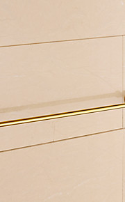 Håndklædestang / Ti-PVD / Vægmonteret /24.4*3.1*2.2 inch /Messing /Moderne /62CM 8CM 0.8