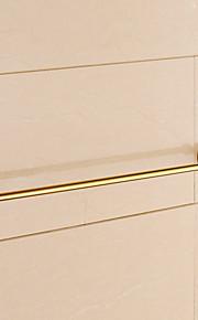 Handtuchhalter / Ti-PVD / Wandmontage /24.4*3.1*2.2 inch /Messing /Modern /62CM 8CM 0.8