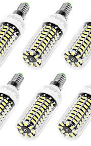 9W E12 / E26/E27 Ampoules Maïs LED T 42 SMD 5733 750 lm Blanc Chaud / Blanc Froid Décorative AC 110-130 V 6 pièces