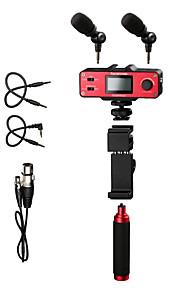 SmartMixer Rød 9V Battery Studio mikrofon